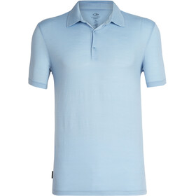 Icebreaker Tech Lite SS Polo Men sky